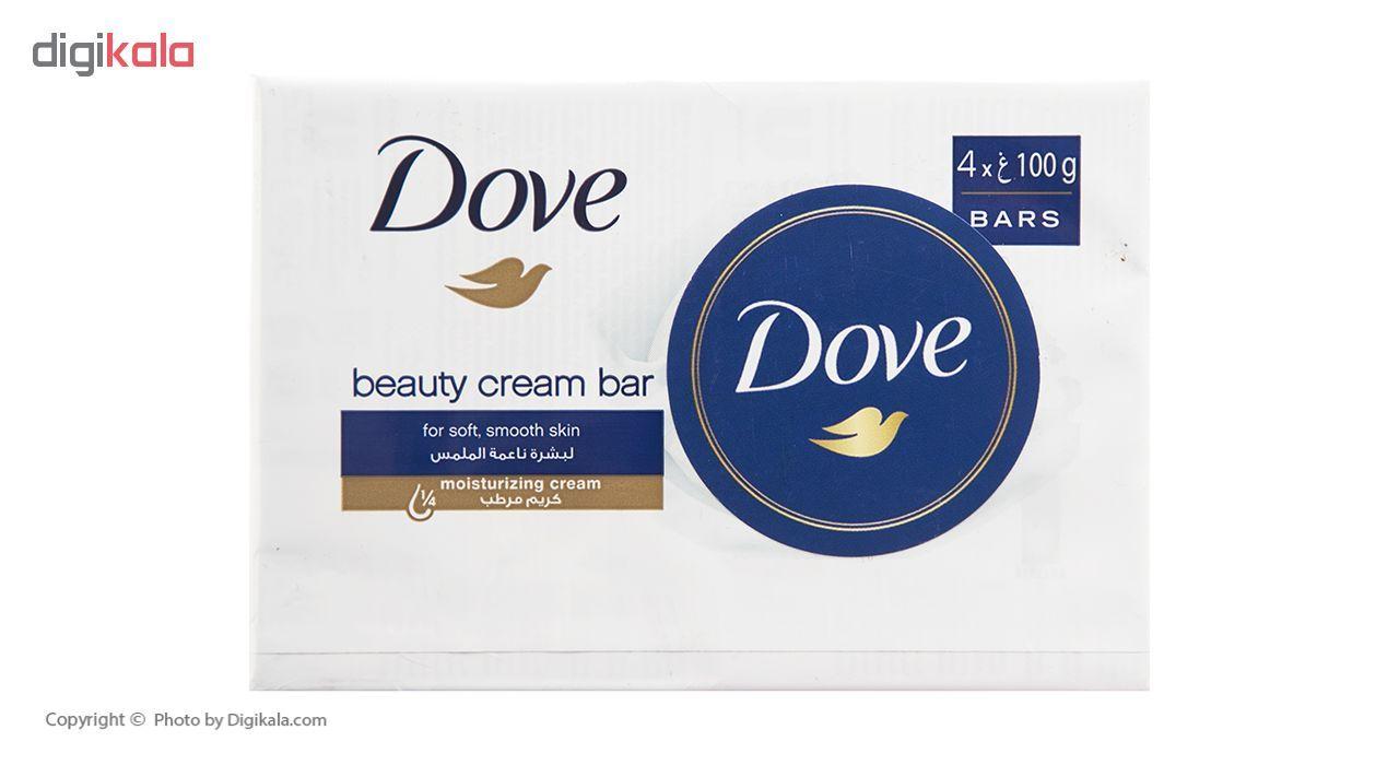 صابون داو مدل Beauty Cream بسته 4 عددی main 1 1