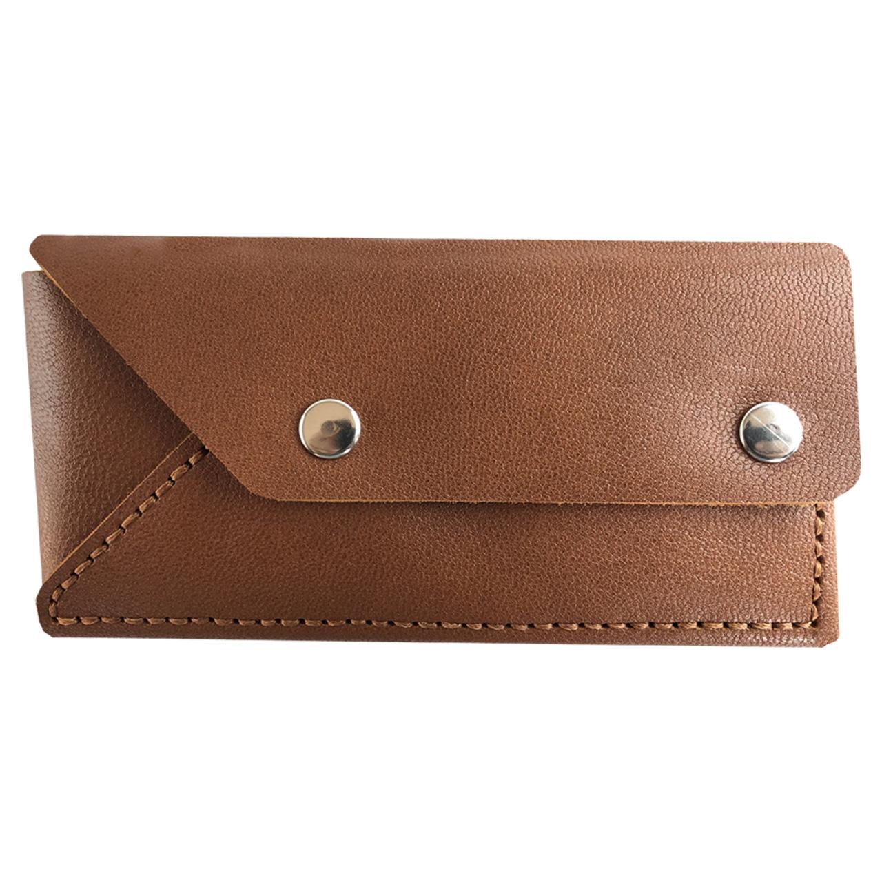 کیف پول چرم طبیعی ای دی گالری مدل P4