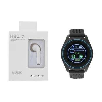 ساعت هوشمند اسمارت 2030 مدل S-009 به همراه هندزفری اچ بی کیو مدل i7