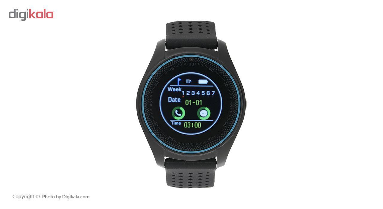 ساعت هوشمند اسمارت 2030 مدل S-009 به همراه هندزفری اچ بی کیو مدل i7 و کارت حافظه 16 گیگابایتی main 1 2