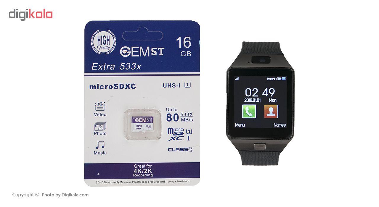 خرید ساعت هوشمند اسمارت بیسون مدل SB-01 به همراه کارت حافظه 16 گیگابایتی