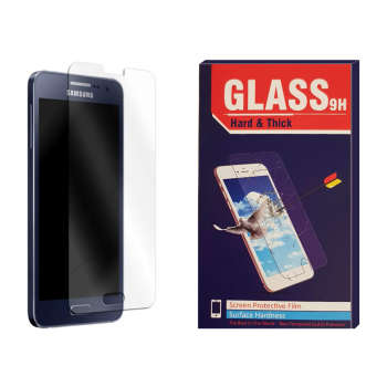 محافظ صفحه نمایش Hard and thick مدل F-001 مناسب برای گوشی موبایل سامسونگ Galaxy A5 2015
