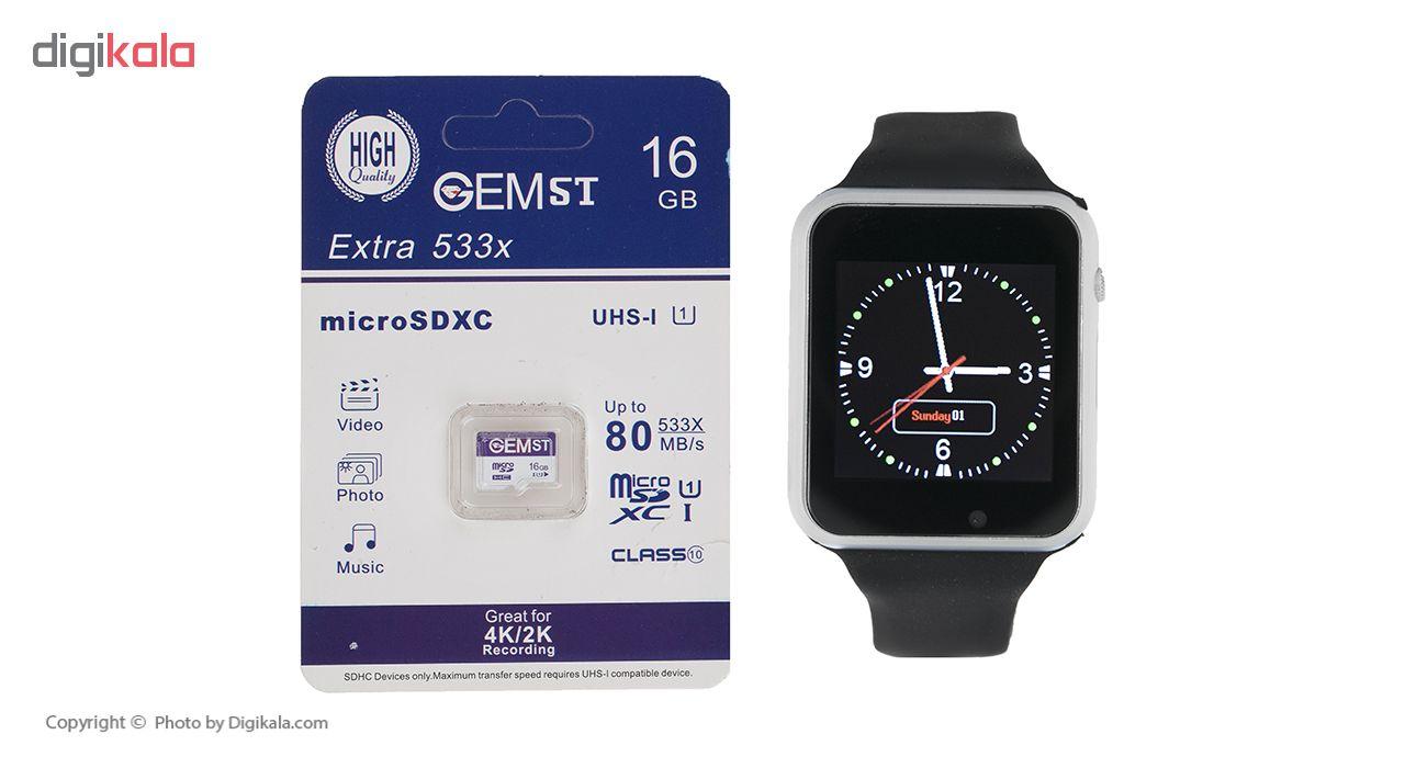 خرید ساعت هوشمند جی-تب مدل W101 Hero به همراه کارت حافظه 16 گیگابایتی