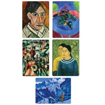 مگنت یخچال طرح نقاشان برتر دنیا 10 مجموعه 5 عددی