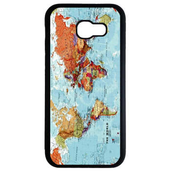 کاور طرح نقشه جهان کد 8439 مناسب برای گوشی موبایل سامسونگ galaxy a5 2017