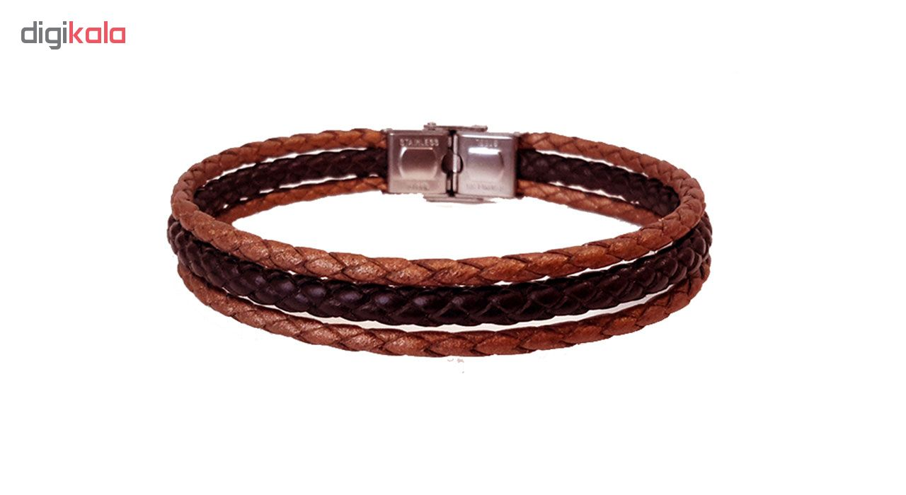 دستبند چرمی مانی چرم مدل BL -102