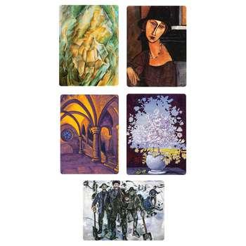مگنت یخچال طرح نقاشان برتر دنیا 5 مجموعه 5 عددی