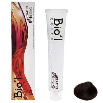 رنگ موی بیول سری Natural مدل HERBAL شماره 4.0 حجم 100 میلی لیتر رنگ قهوه ای متوسط