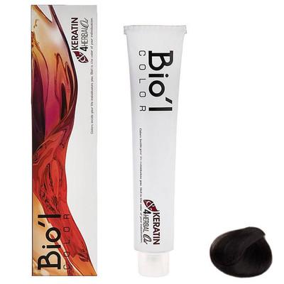 تصویر رنگ موی بیول سری Natural مدل HERBAL شماره 2.0 حجم 100 میلی لیتر رنگ قهوه ای تیره