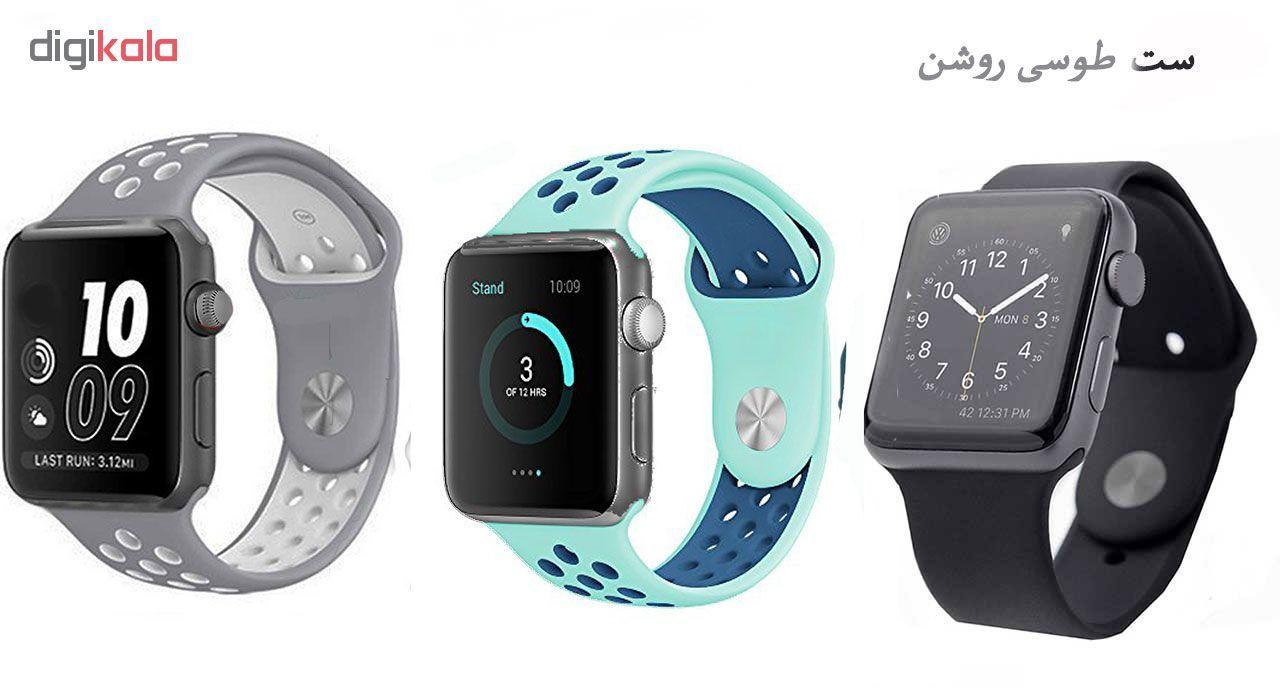 ساعت هوشمند مدل  iWO-s  همراه دو بند اضافه نایک و محافظ صفحه نمایش و بگ شیدتگ main 1 24