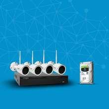 سیستم امنیتی بی سیم لانگسی مدل WIFI3608D4SF200