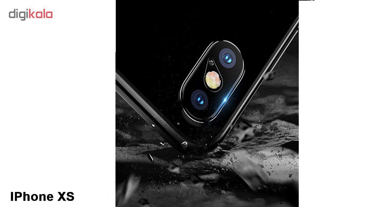 محافظ لنز دوربین هورس مدل UTF مناسب برای گوشی موبایل اپل iPhone XS بسته دو عددی main 1 5