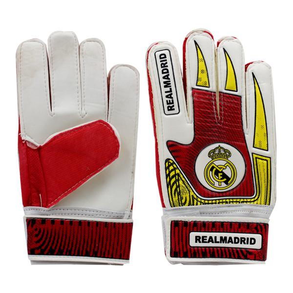 دستکش دروازه بانی پسرانه طرح رئال مادرید مدل BR66