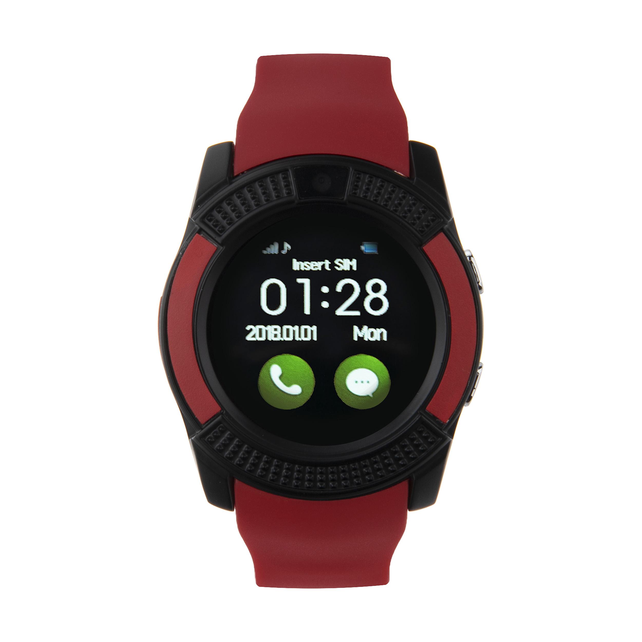 ساعت هوشمند وی سریز مدل WE V8 الف 001
