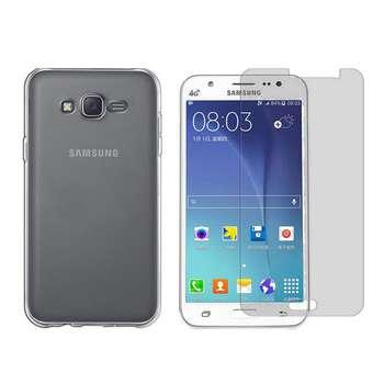 کاور مدل Cl-001 مناسب برای گوشی موبایل سامسونگ Galaxy J5 به همراه محافظ صفحه نمایش hard and thick