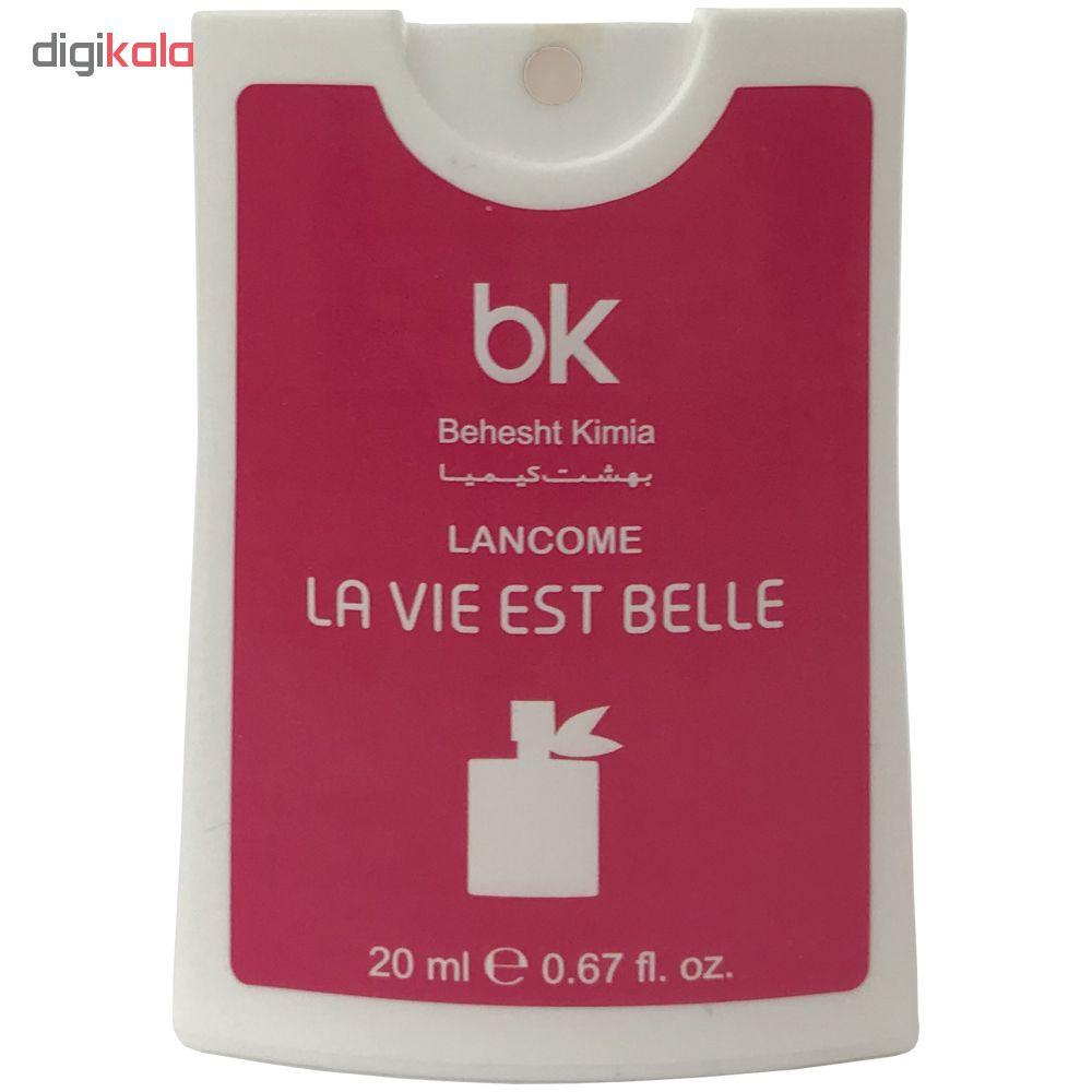 عطر جیبی زنانه بی کی مدل La Vie Est Belle حجم 20 میلی لیتر