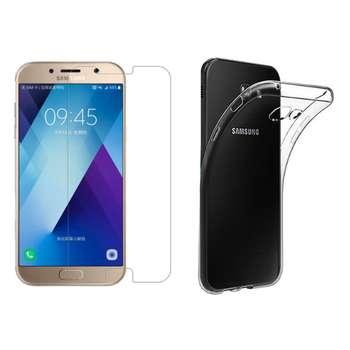 کاور مدل Cl-001 مناسب برای گوشی موبایل سامسونگ Galaxy A5 2017 به همراه محافظ صفحه نمایش hard and thick
