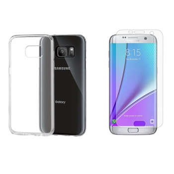 کاور مدل Cl-001 مناسب برای گوشی موبایل سامسونگ Galaxy S7 به همراه محافظ صفحه نمایش hard and thick