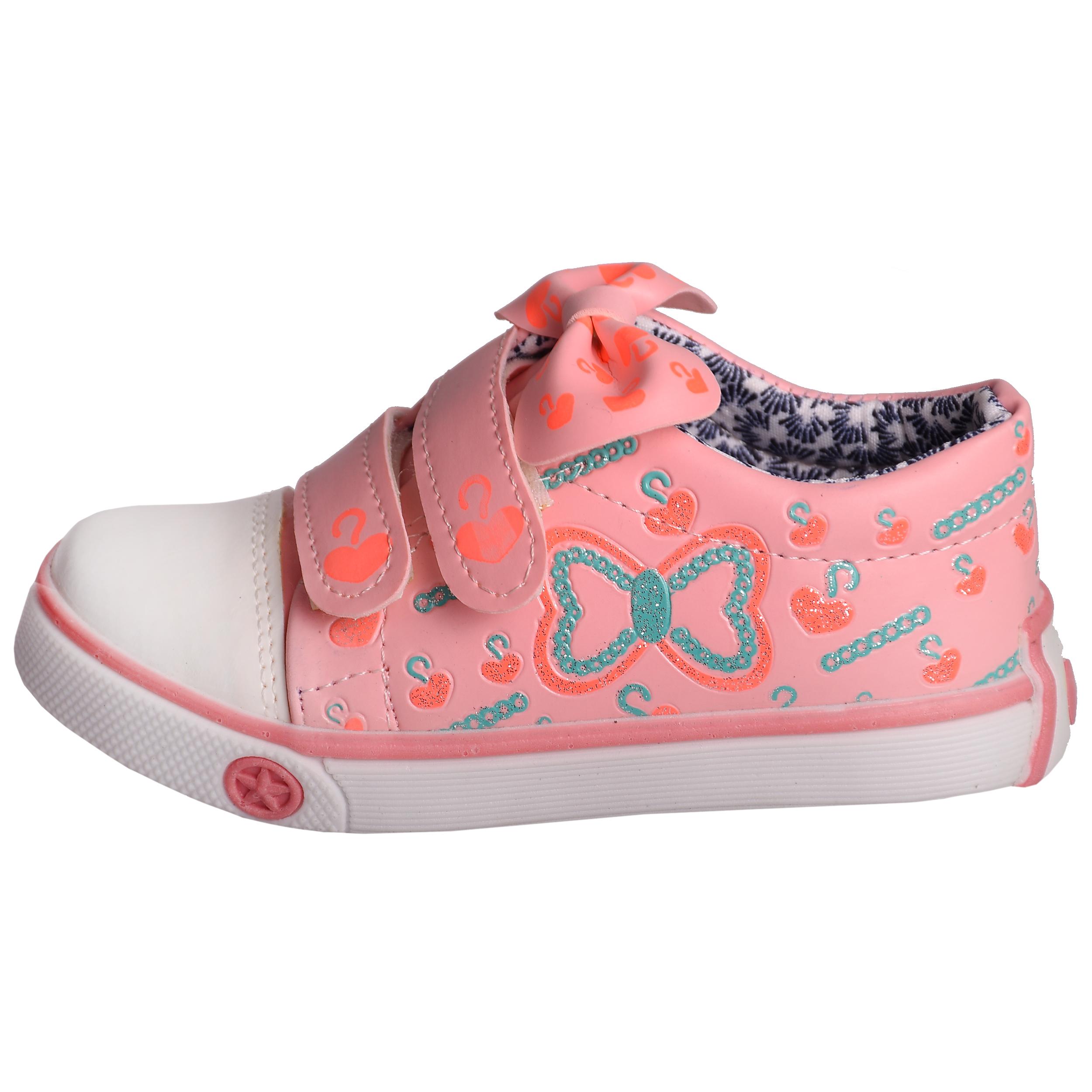 کفش دخترانه مدل 3236 رنگ صورتی