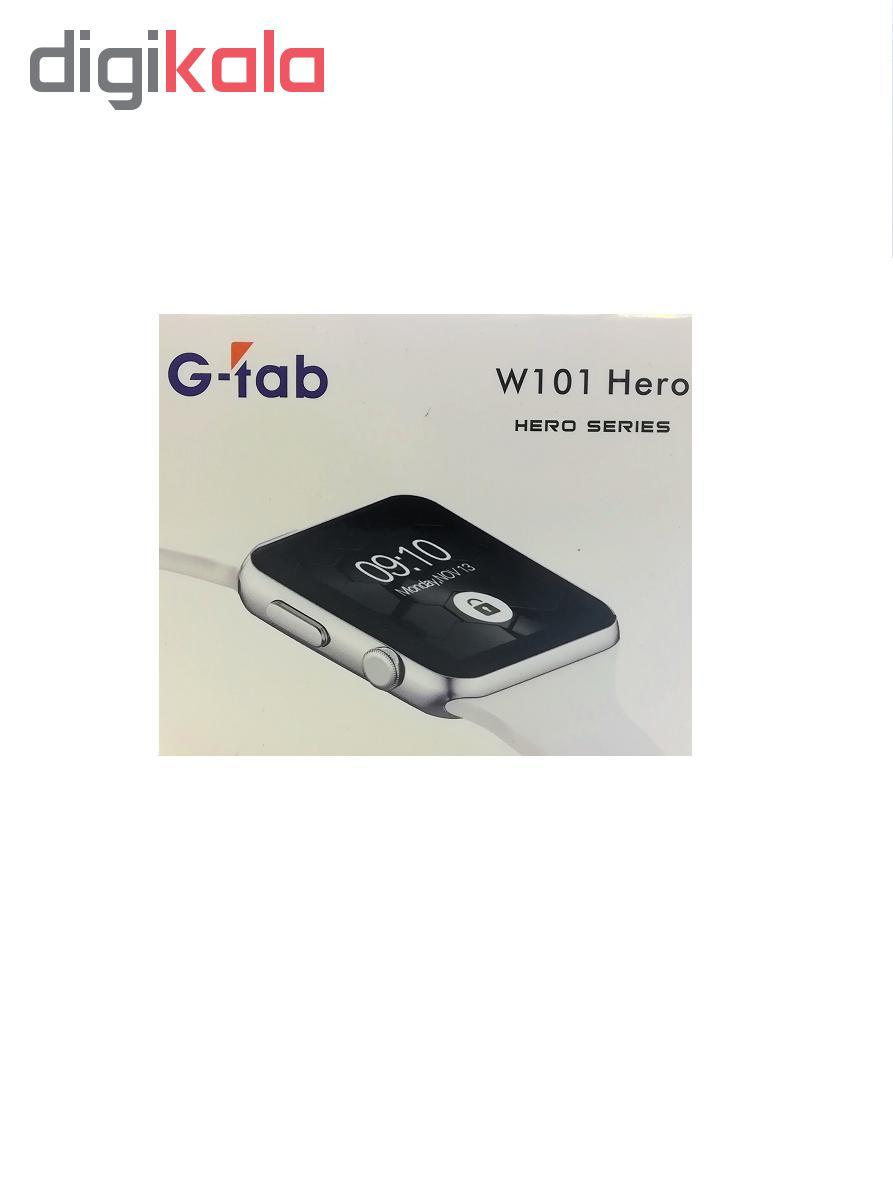 ساعت هوشمند جی تب مدل W101 main 1 1
