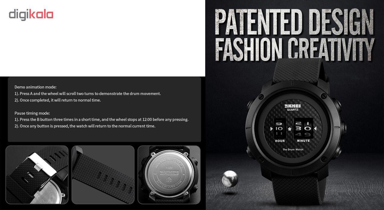 ساعت مچی دیجیتال مردانه اسکمی مدل 1486