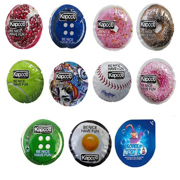 قیمت کاندوم کاپوت مجموعه 10 عددی به همراه کاندوم ناچ کدکس مدل بلیسر