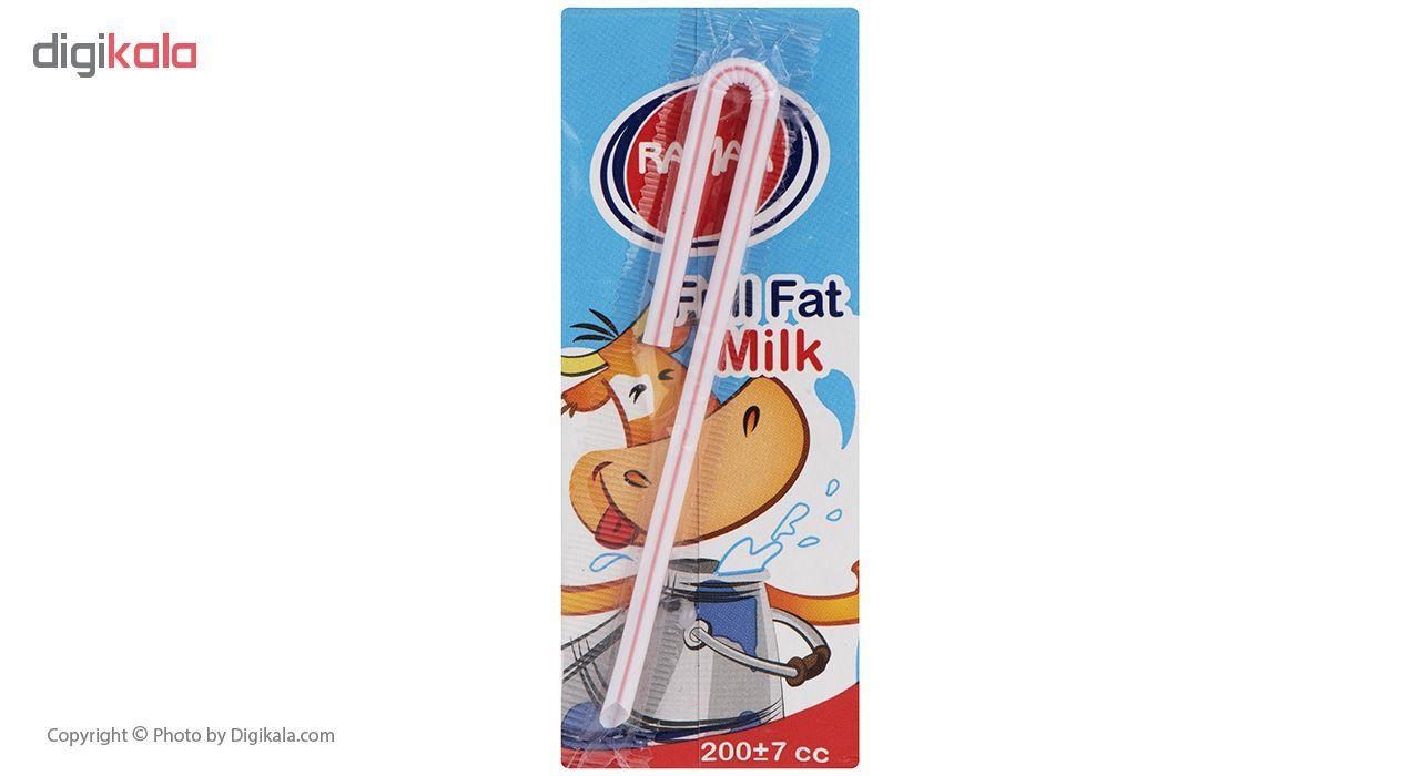 شیر پرچرب رامک مقدار 0.2 لیتر main 1 2