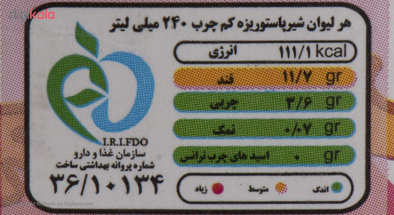 شیر کم چرب رامک مقدار 0.2 لیتر main 1 4