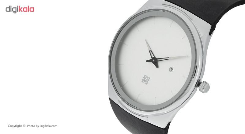 ساعت مچی عقربه ای مردانه ژیوانشی مدل 520