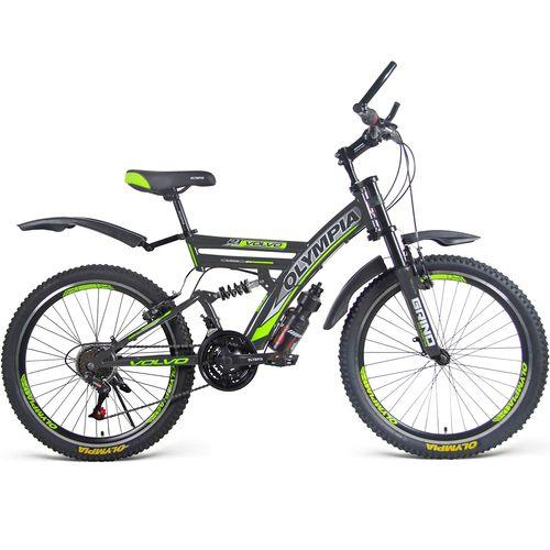 دوچرخه دو کمک کوهستان مدل 2423 سایز 24