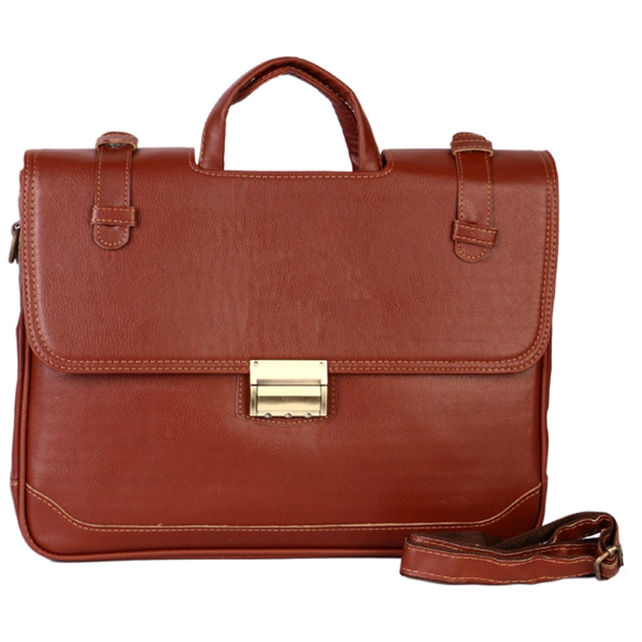 کیف اداری مردانه رویال چرم کد BF12