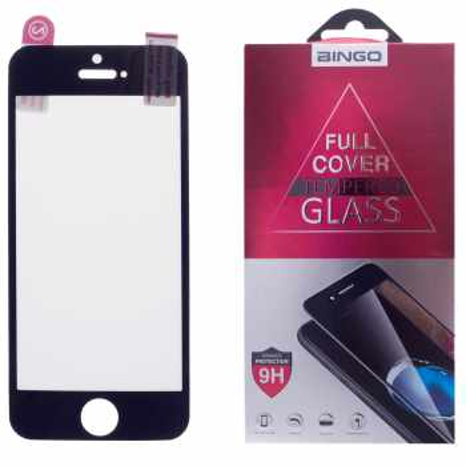 محافظ صفحه نمایش بینگو مدل Zengelachoo  مناسب برای گوشی موبایل اپل iPhone 5
