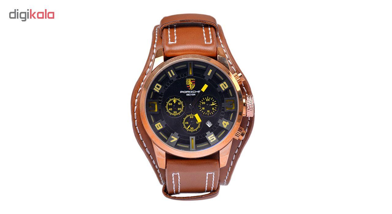 خرید ساعت مچی عقربه ای مردانه کد 3Por-Yel