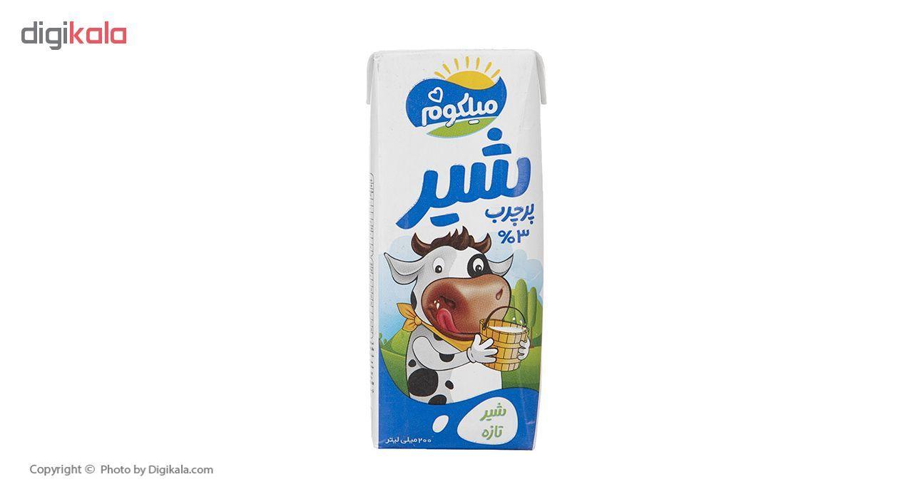 شیر پر چرب میهن مدل میلکوم حجم 200 میلی لیتر main 1 3
