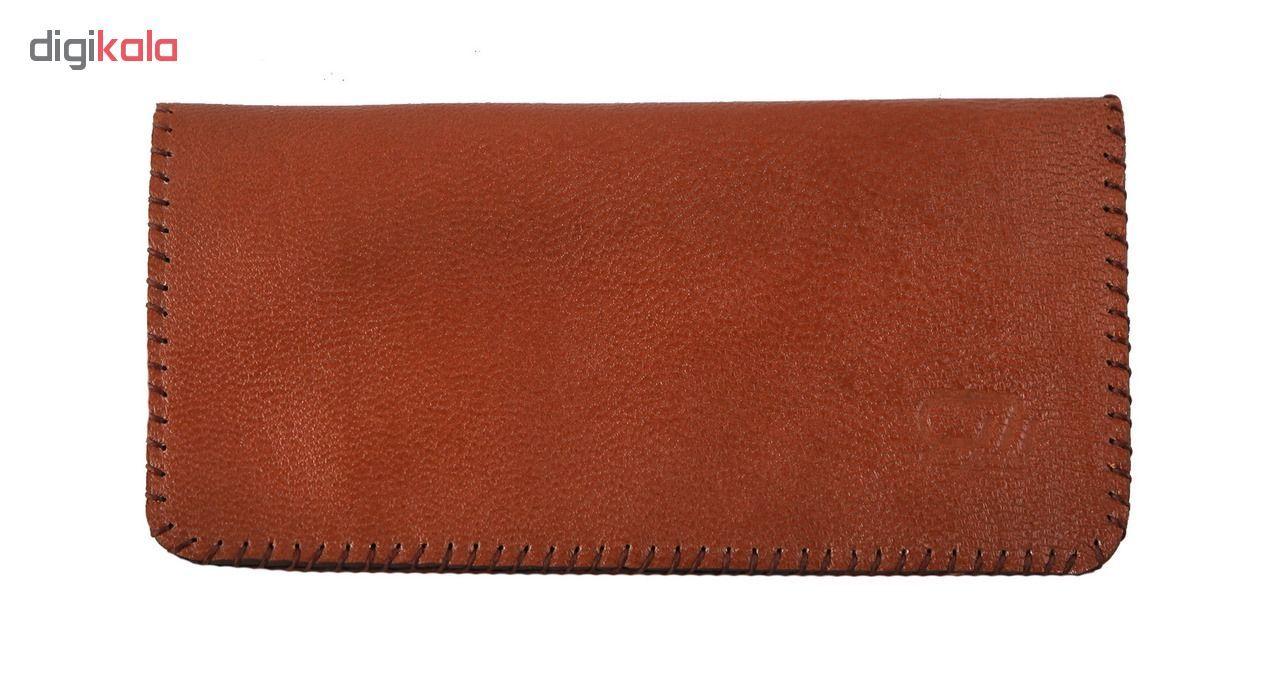 کیف پول چرم طبیعی گالری راد مدل کتی -  - 7