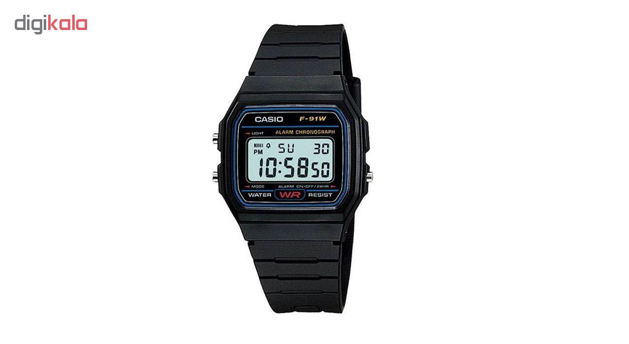 خرید ساعت مچی دیجیتال مردانه مدل F91 | ساعت مچی