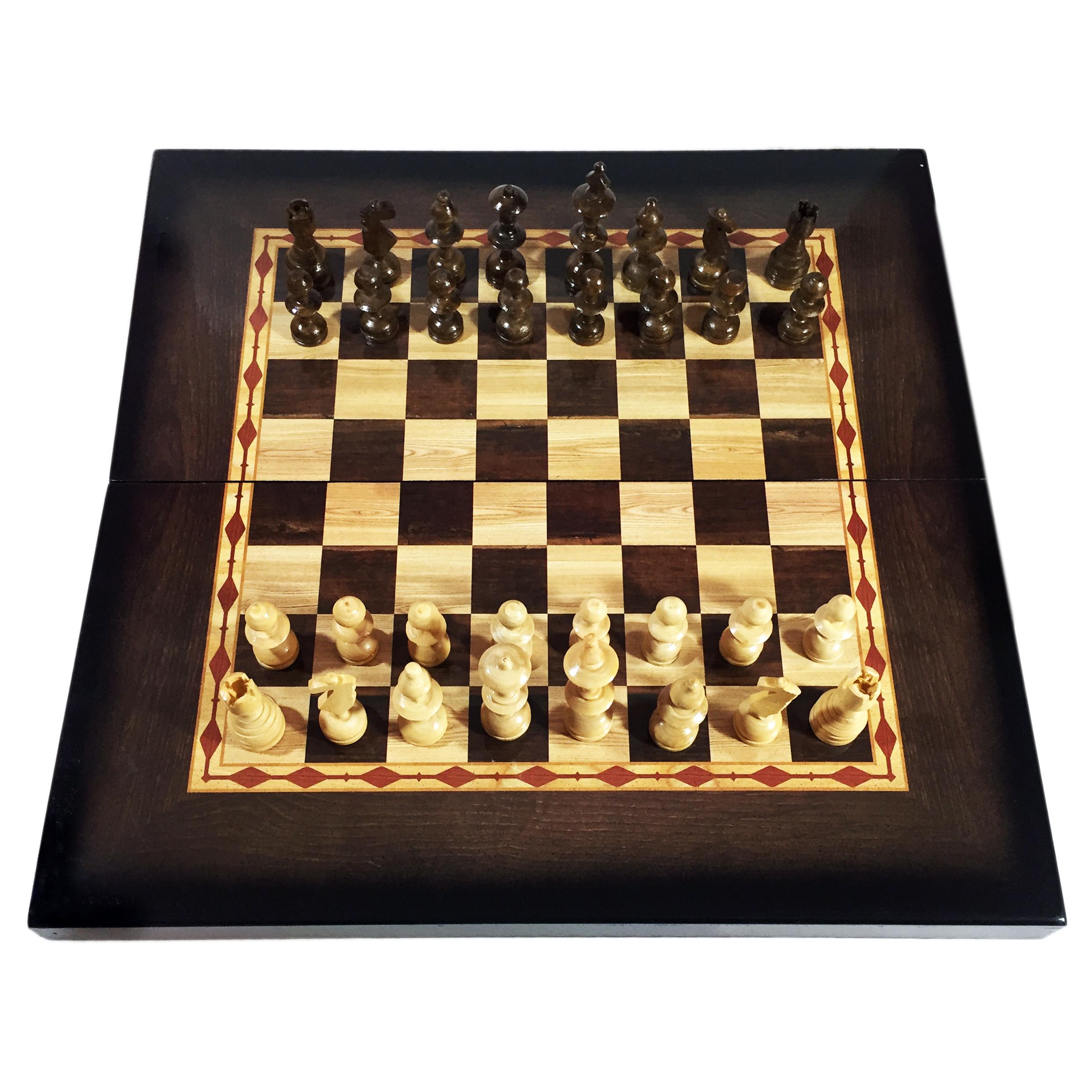 شطرنج الف با طرح خشتی کد 521