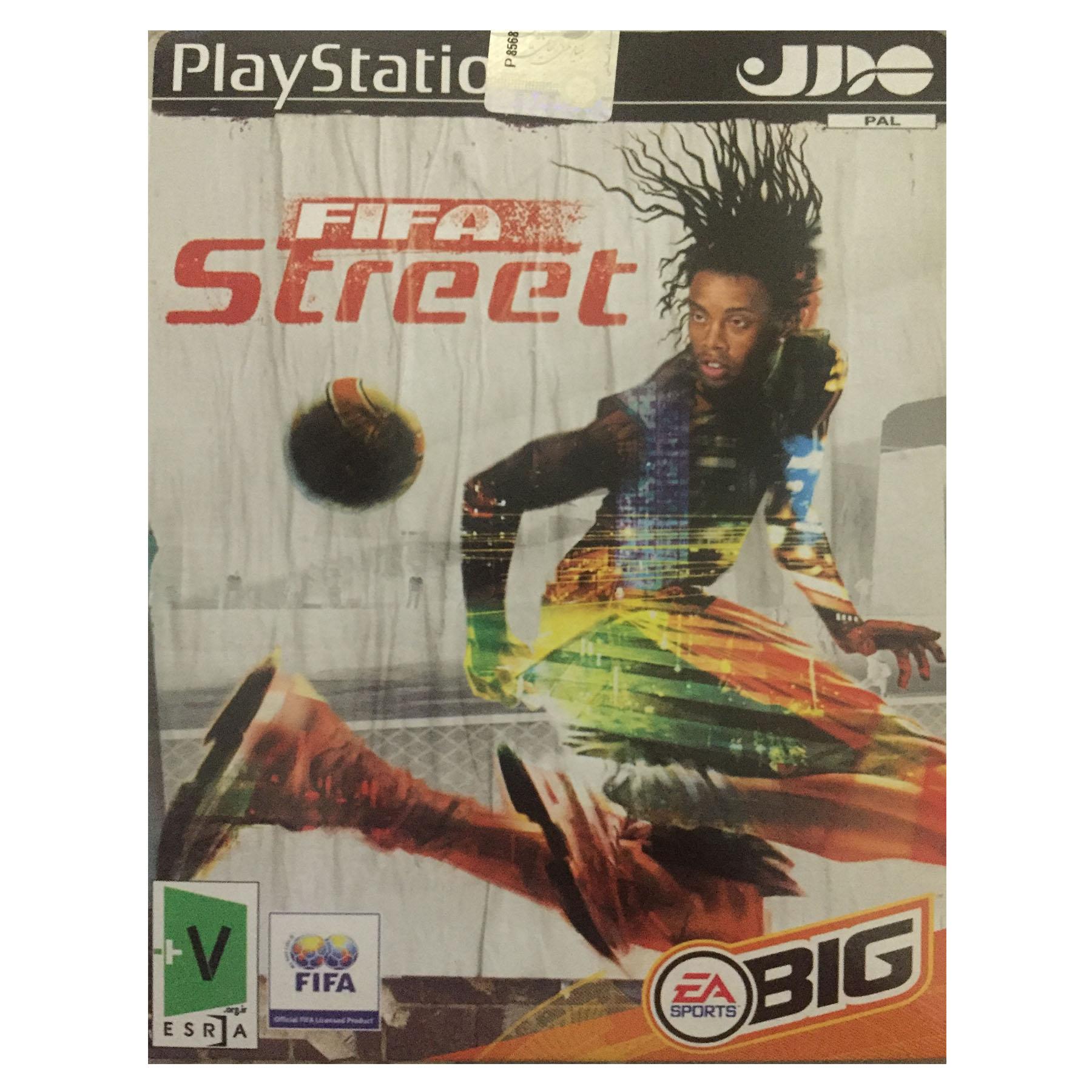 بازی FIFA STREET مخصوص PLAYStation2 به همراه چراغ USB آبی