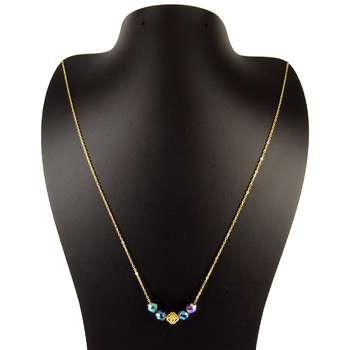 گردنبند طلا 18 عیار زنانه مانچو مدل Sfg623 |
