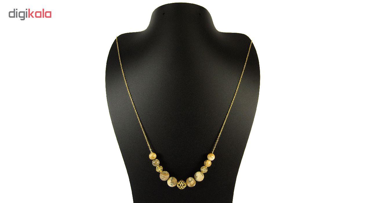 گردنبند طلا 18 عیار زنانه مانچو مدل Sfg625