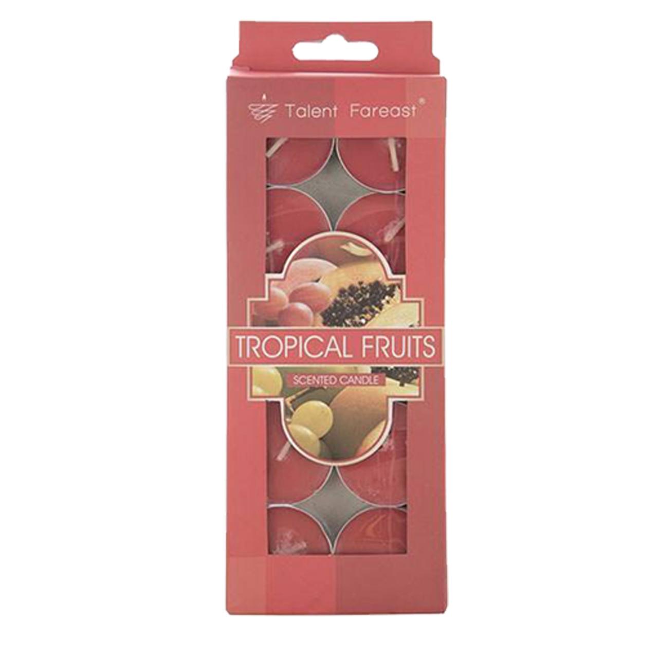 شمع وارمر تلنت فارست سورتک طرح Tropical Fruits مدل STC209 بسته 10 عددی