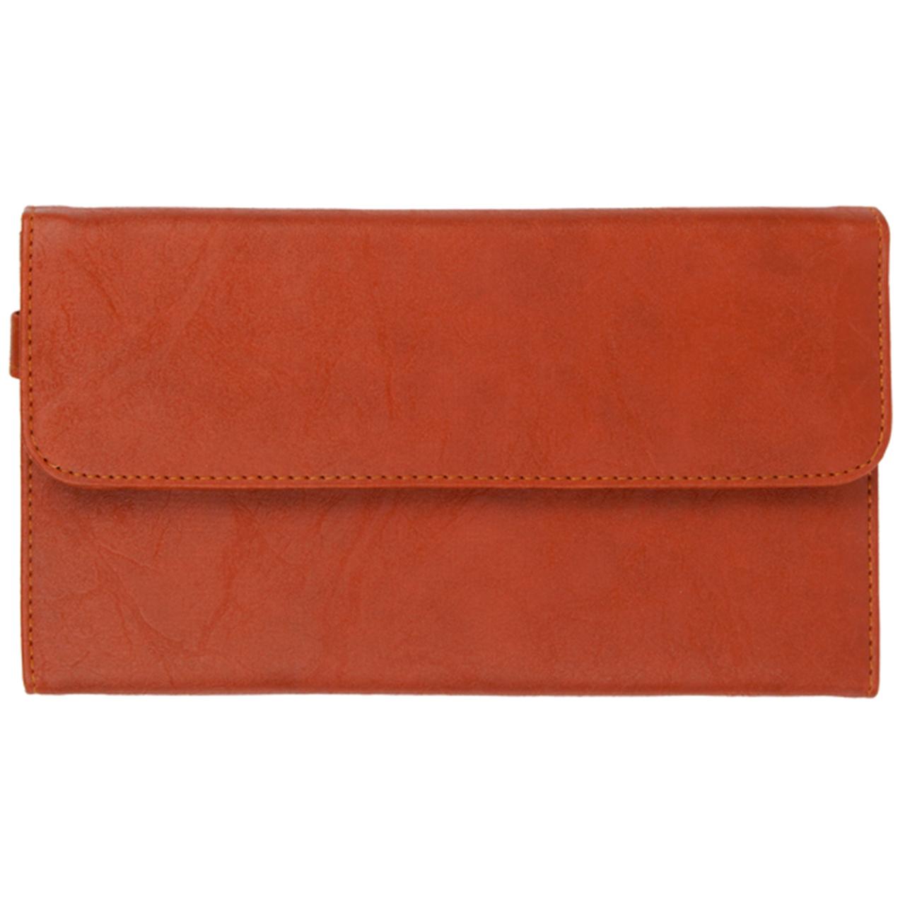 قیمت کیف مدارک رویال چرم کدP4/1-Brown