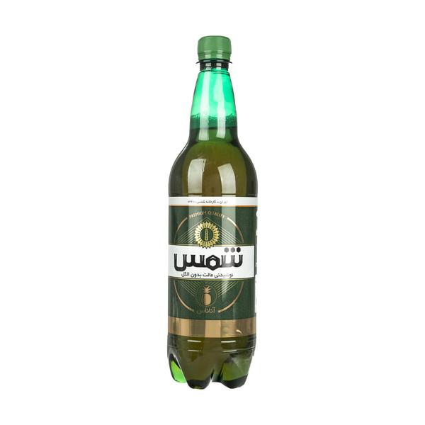 نوشیدنی مالت بدون الکل آناناس شمس حجم 1 لیتر