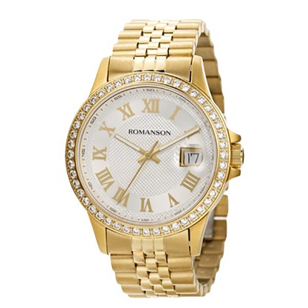 کد تخفیف                                      ساعت مچی عقربه ای مردانه رومانسون مدل TM0361QM1GAS1G
