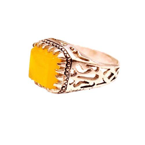 انگشتر نقره مردانه مدل p0033