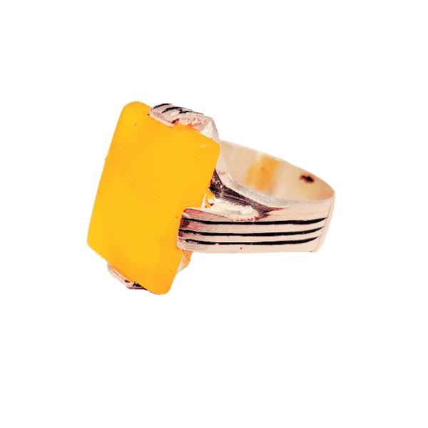 انگشتر نقره مردانه مدل p0044