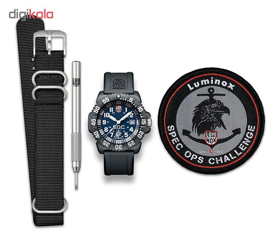 کد تخفیف                                      ساعت مچی عقربه ای مردانه لومینوکس مدل XS.3053.SOC.SEL