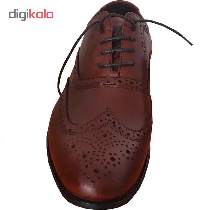 کفش چرم مردانه shm220.2