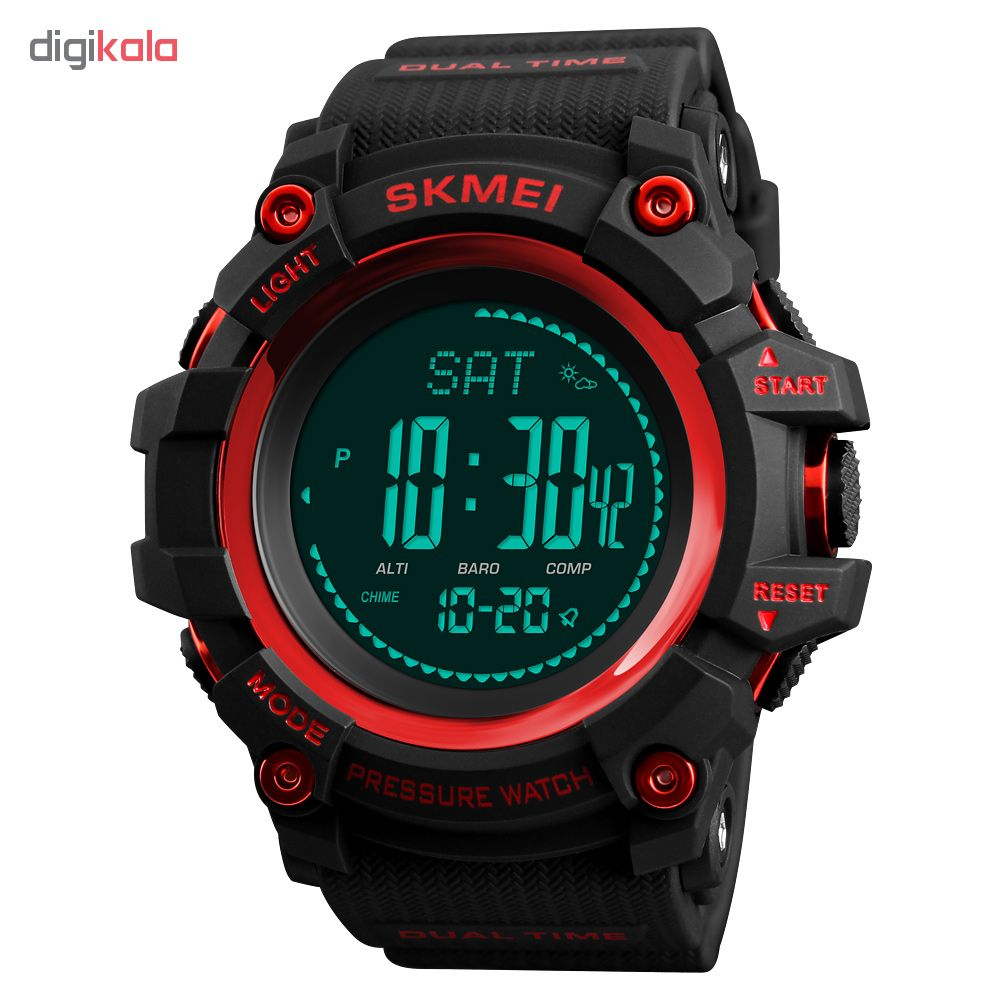 ساعت مچی دیجیتالی مردانه اسکمی مدل 1358R