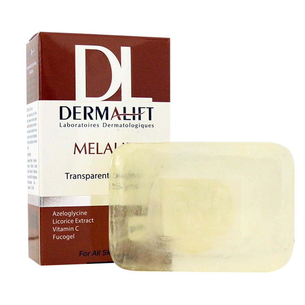 قیمت پن شفاف روشن کننده پوست درمالیفت مدل Melafit وزن 100 گرم